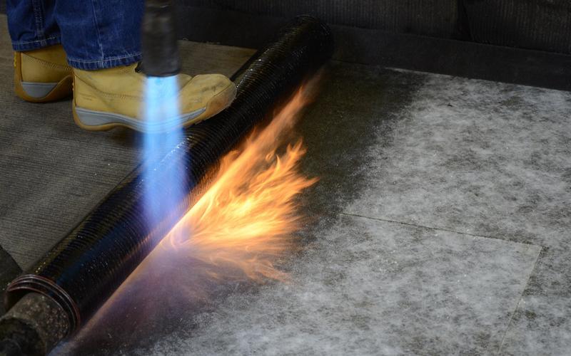 Torch-on felt