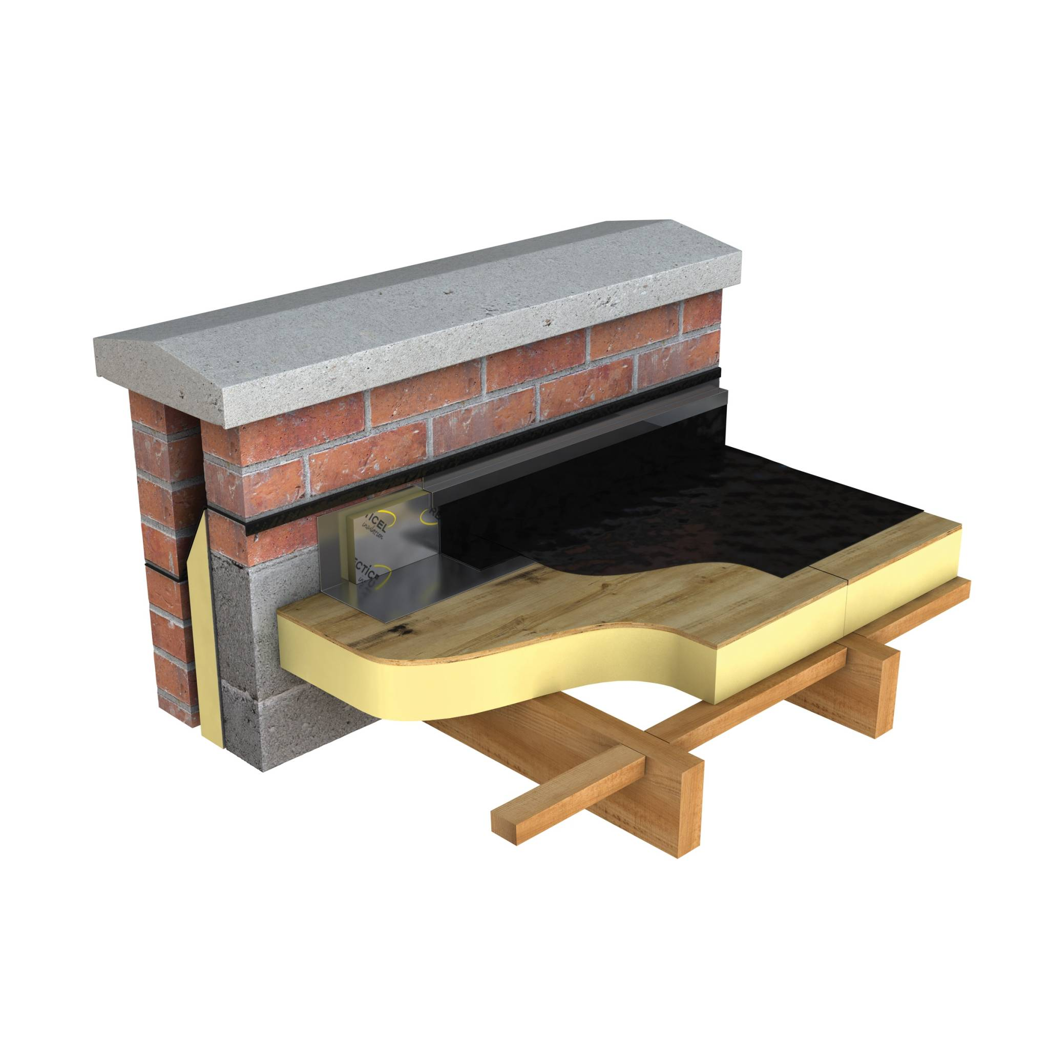 Plylok. A High Performance Rigid PIR Foam Insulation Board For Use In Warm Flat  Roofs ...