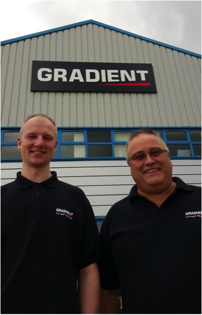 GRADIENT FOCUSES ON SERVICE AND QUALITY