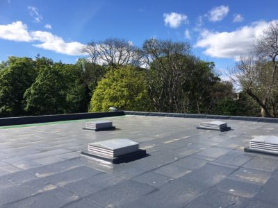 GRADIENT SUPPLIES BESPOKE ROOF INSULATION SOLUTION FOR NEW SCHOOL ROOF